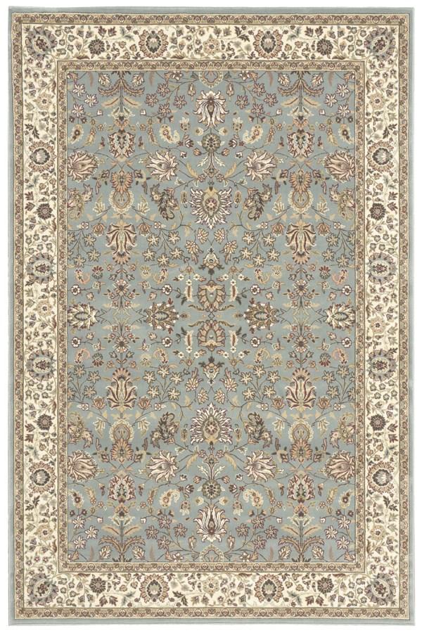 Slate Blue (ANT-04) Traditional / Oriental Area Rug