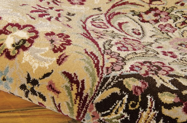 Burgundy (ANT-05) Traditional / Oriental Area Rug