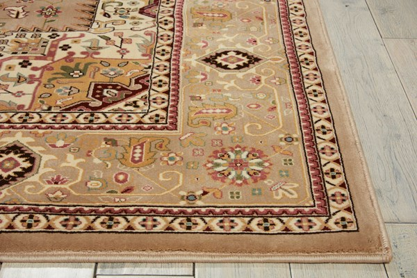 Beige (ANT-09) Traditional / Oriental Area Rug
