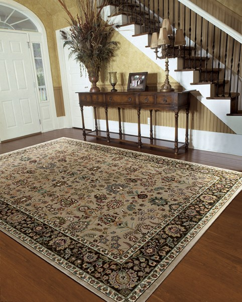 Cream (ANT-04) Traditional / Oriental Area Rug