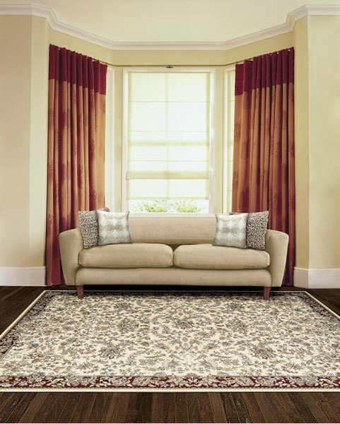 Ivory (ANT-07) Traditional / Oriental Area Rug