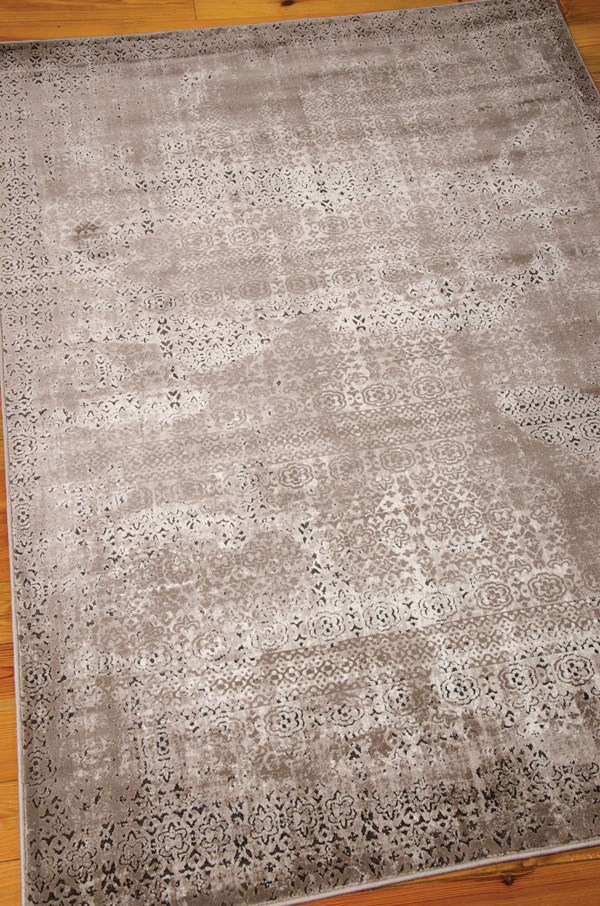 Ash Vintage / Overdyed Area Rug