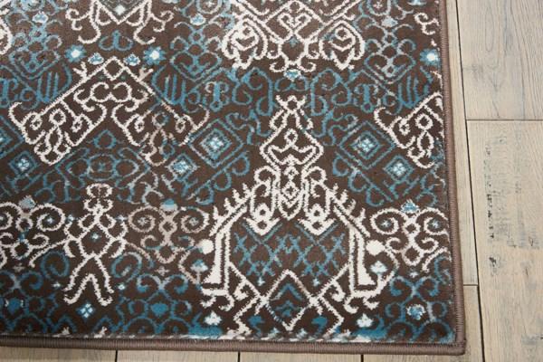 Blue Moroccan Area Rug