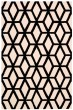 Product Image of Transitional Ivory, Black Area Rug