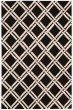 Product Image of Transitional Black, White Area Rug
