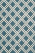 Product Image of Transitional Teal, Ivory Area Rug