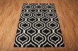 Product Image of Black, White Moroccan Area Rug