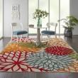 Product Image of Green, Red, Orange Outdoor / Indoor Area Rug