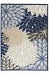 Product Image of Outdoor / Indoor Blue, Beige, Cream Area Rug