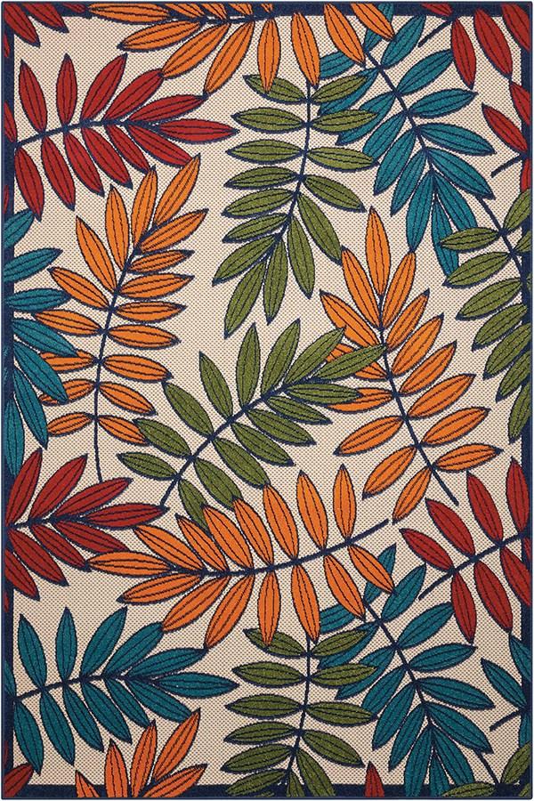 Red, Blue, Green Outdoor / Indoor Area Rug