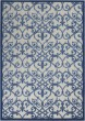 Product Image of Outdoor / Indoor Grey, Blue Area Rug