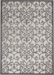 Product Image of Outdoor / Indoor Grey, Charcoal Area Rug