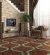 Product Image of Brown, Red Moroccan Area Rug