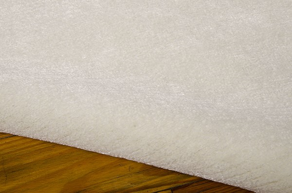 Ivory Solid Area Rug