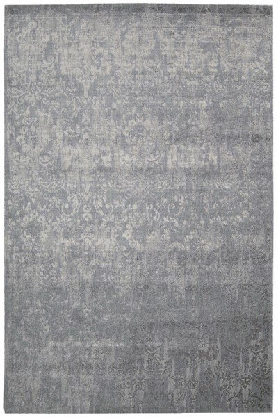 Slate Traditional / Oriental Area Rug