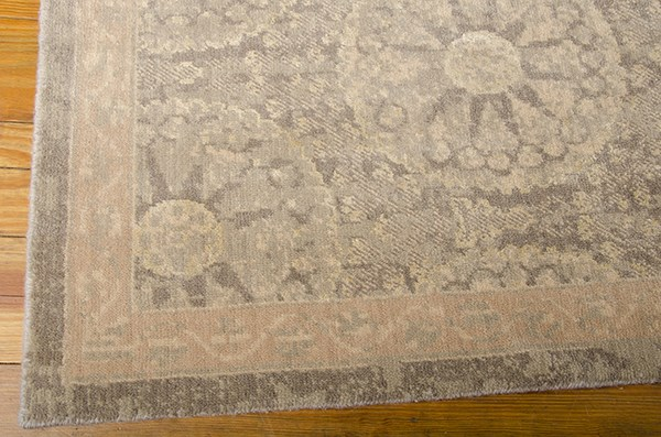 Mushroom Transitional Area Rug