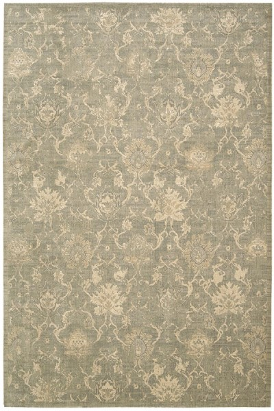 Moss Contemporary / Modern Area Rug