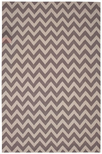 Flame Stitch Chevron Area Rug