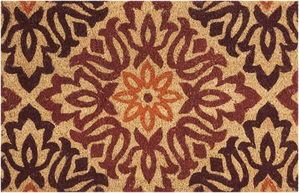 Burgundy, Orange, Maroon Outdoor / Indoor Area Rug
