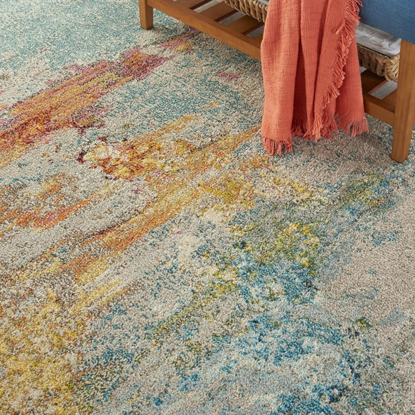 Sealife Abstract Area Rug