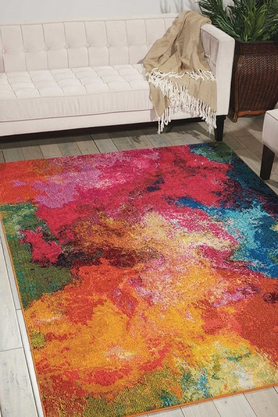 Palette Abstract Area Rug