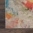 Product Image of Ivory, Yellow, Orange Contemporary / Modern Area Rug
