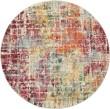 Product Image of Red, Orange, Cream Contemporary / Modern Area Rug