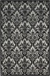 Product Image of Traditional / Oriental Black, White Area Rug
