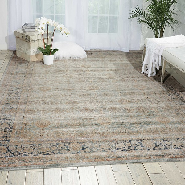 Cloud Vintage / Overdyed Area Rug