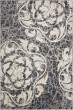 Product Image of Contemporary / Modern Ivory, Charcoal Area Rug