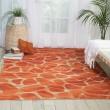 Product Image of Orange Outdoor / Indoor Area Rug