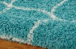 Product Image of Teal Shag Area Rug
