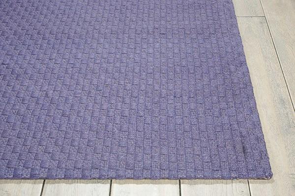 Purple Solid Area Rug
