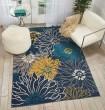 Product Image of Blue Floral / Botanical Area Rug