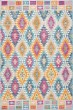 Product Image of Traditional / Oriental Grey, Orange, Pink Area Rug