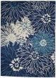 Product Image of Floral / Botanical Navy, Ivory Area Rug