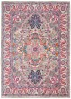 Product Image of Contemporary / Modern Light Grey, Pink Area Rug