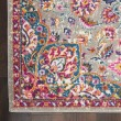 Product Image of Grey, Pink, Blue Bohemian Area Rug