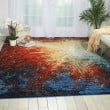 Product Image of Red Flare Contemporary / Modern Area Rug