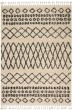 Product Image of Moroccan Cream, Black Area Rug
