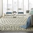 Product Image of Cream, Charcoal Moroccan Area Rug