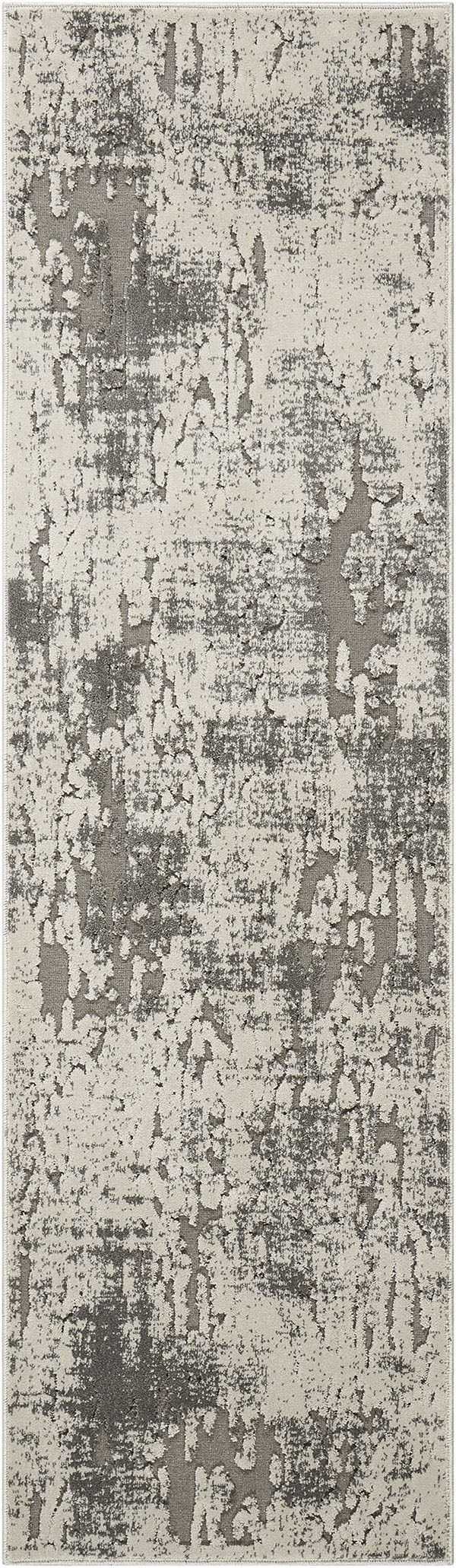 Ivory, Grey Transitional Area Rug