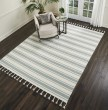 Product Image of Ivory, Spa Striped Area Rug