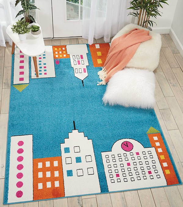 Blue Children's / Kids Area Rug