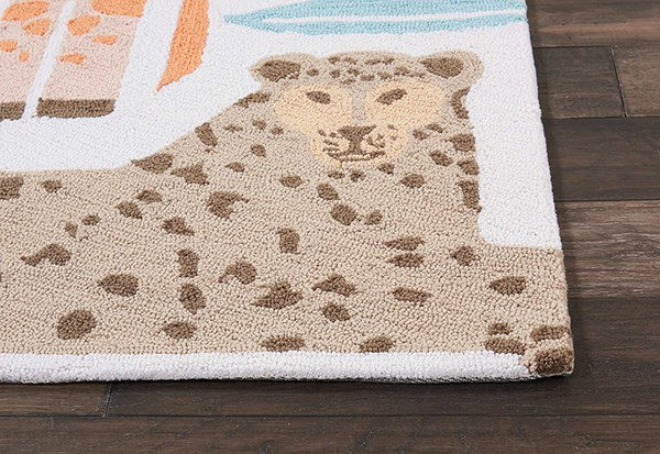Coral Children's / Kids Area Rug