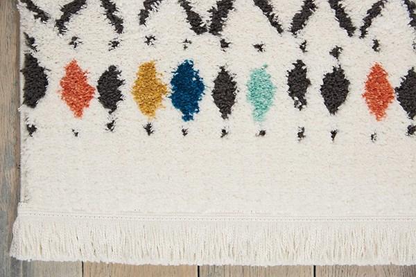 White Moroccan Area Rug