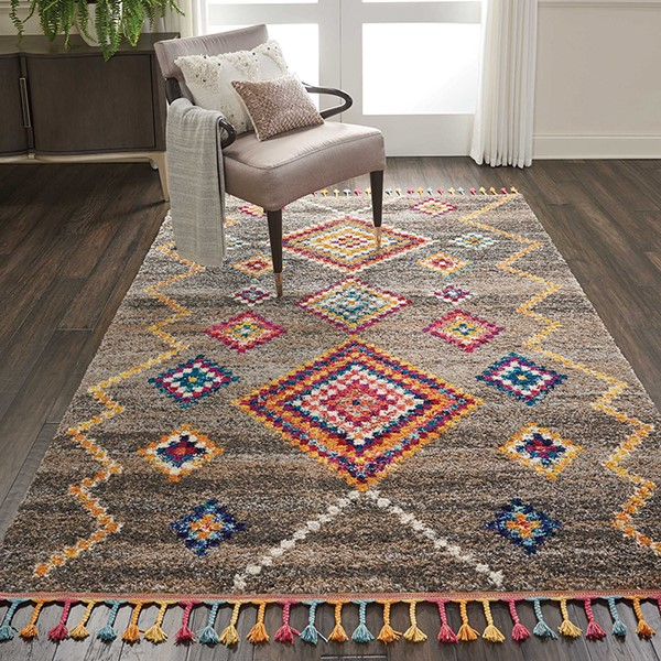 Nourison Nomad Nmd 05 Rugs Moroccan