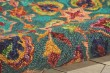 Product Image of Teal Traditional / Oriental Area Rug
