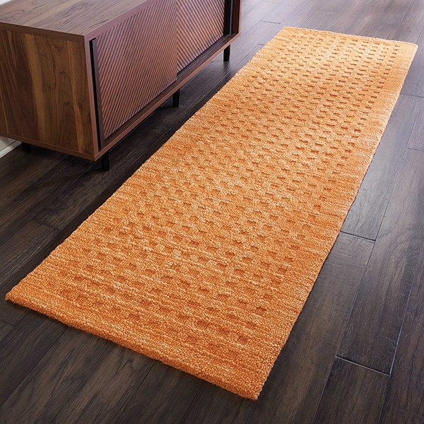 Sunset Textured Solid Area Rug
