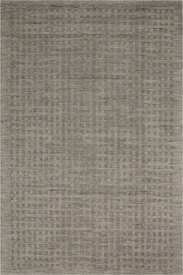 Charcoal Textured Solid Area Rug